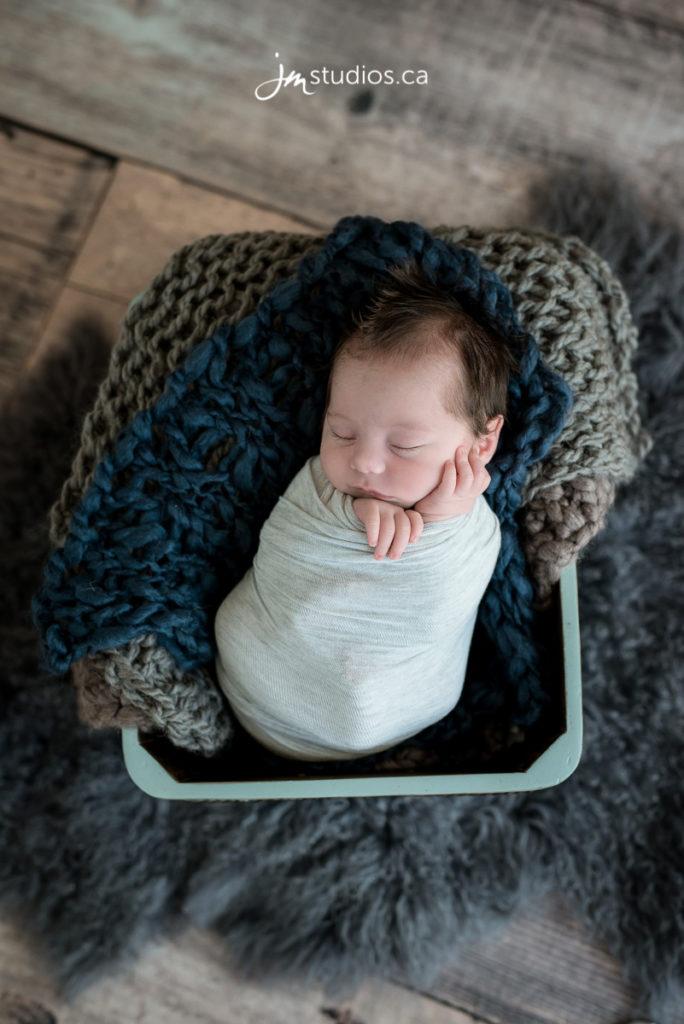 Baby gunnar newborn session details